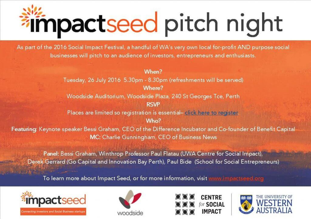 Impactseed pitch night